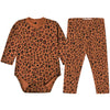 tiny cottons animal print pajamas