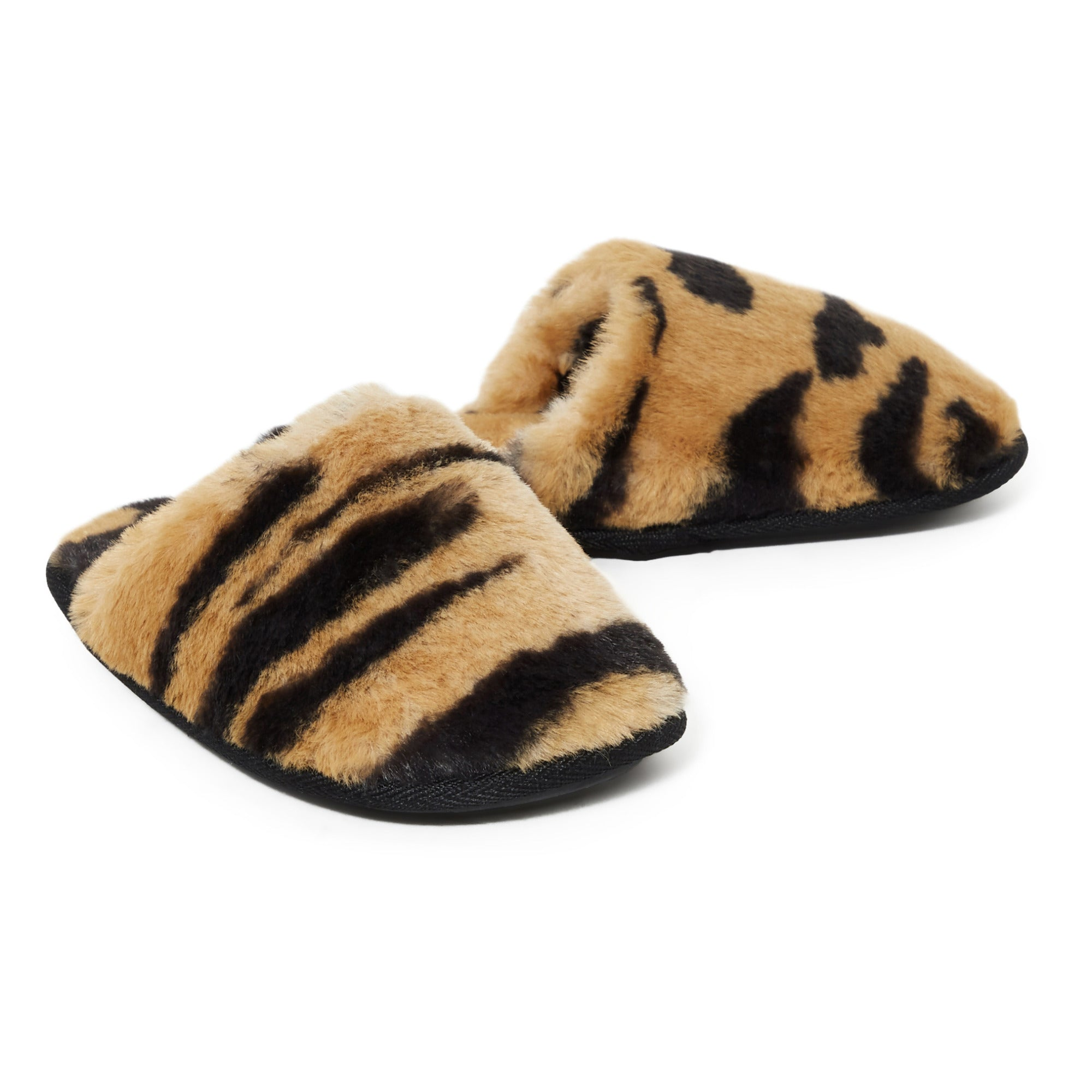 AO76 faux fur slippers