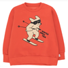 tiny cottons skiing dog sweatshirt