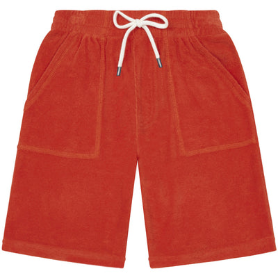 yoya, kids, boys, hundred pieces, casual, summer, terry cloth, drawstring, bermuda shorts
