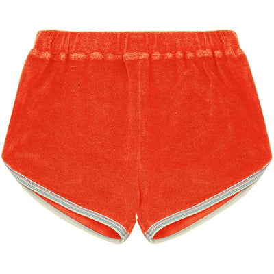 yoya, kids, girls, hundred pieces, casual, summer, terry cloth, pull on shorts