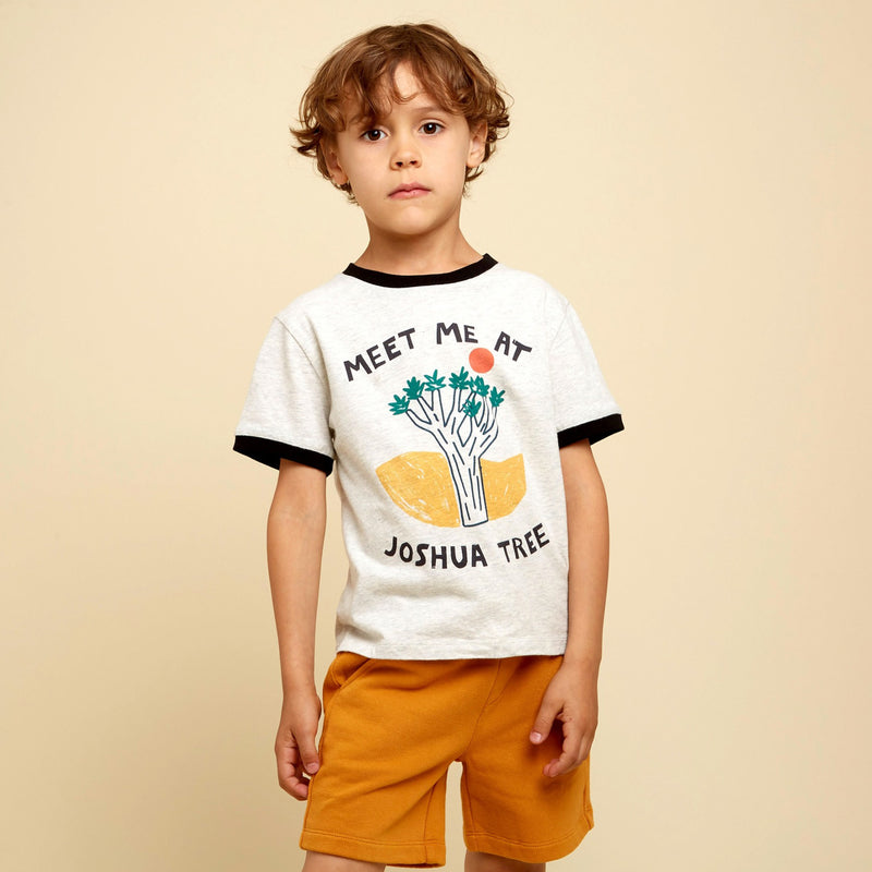 yoya kids hundred pieces bermuda tiger shorts elastic waist summer casual boys lounge