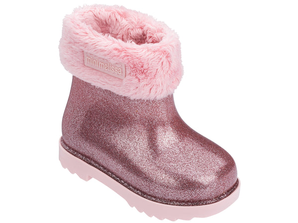 MINI MELISSA RAIN BOOT II ROSA
