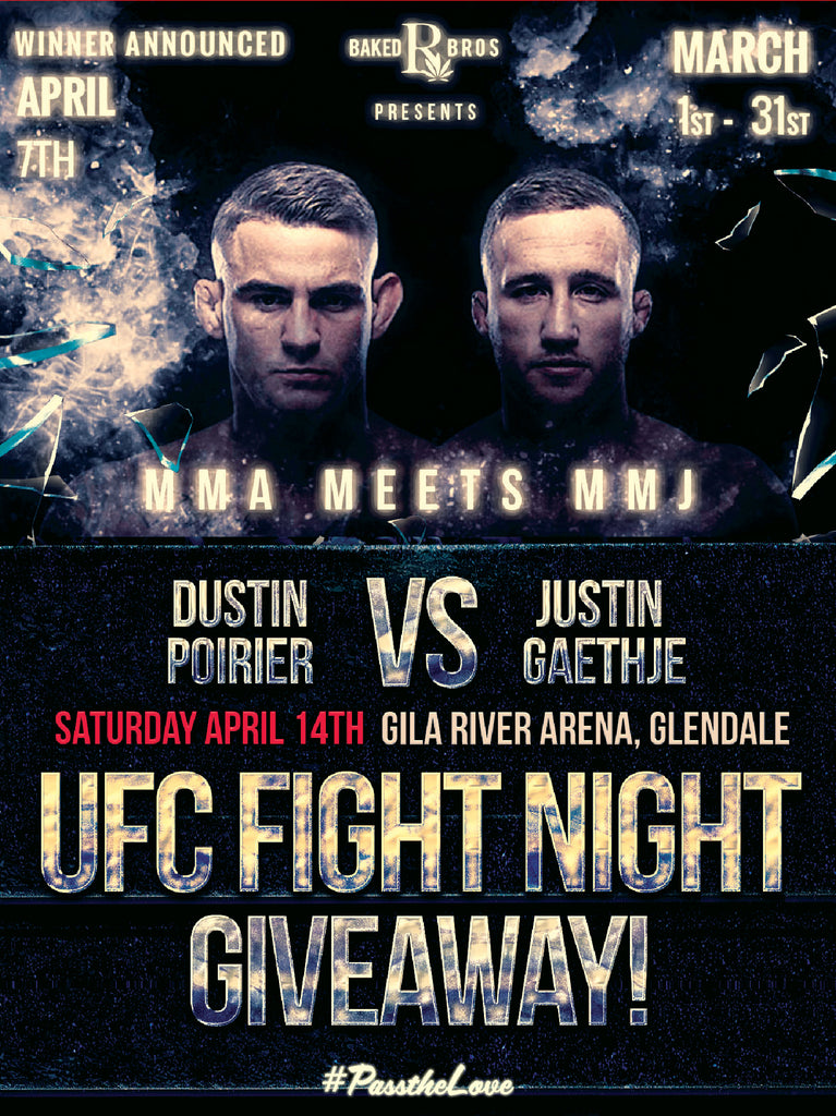 UFC Fight Night Giveaway!