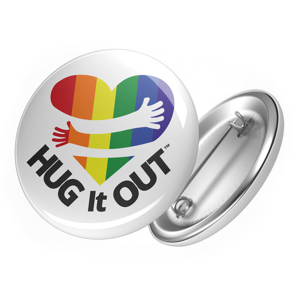 Hug It Out Button