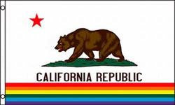 California Gay Pride Flag
