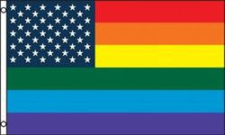 New Old Glory Pride Flag