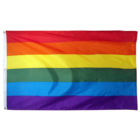 Rainbow Triangle Pride Flag