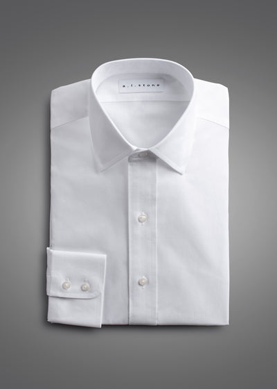 MENS CLASSIC PINPOINT NON IRON CLASSIC FIT SPREAD COLLAR