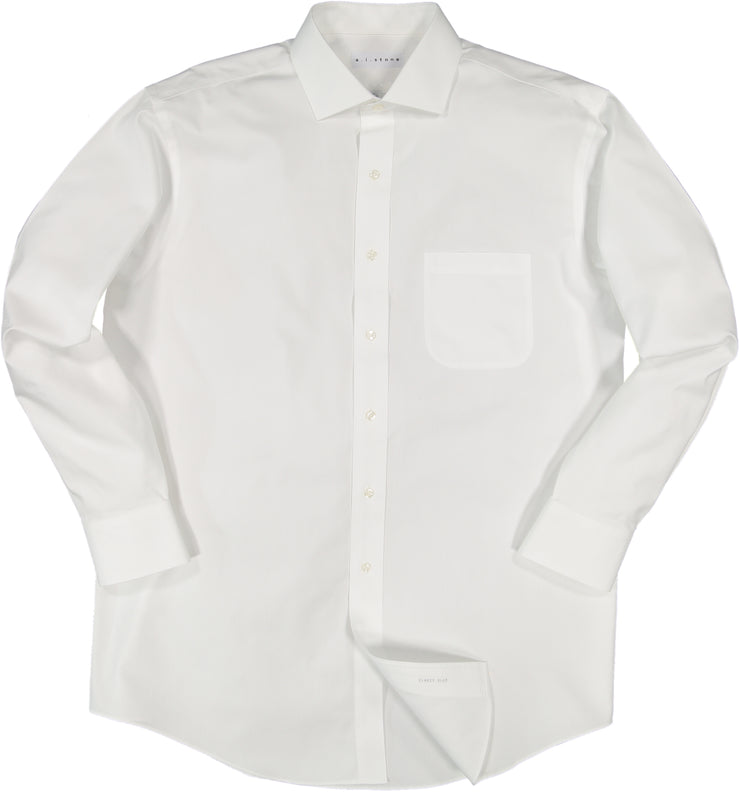 MENS CLASSIC PINPOINT NON IRON CLASSIC FIT CUTAWAY COLLAR
