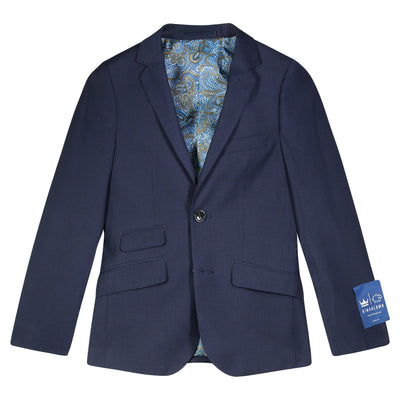 King and Lamb Boys Mini Check Washable Suit/Jacket/Pants