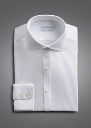 Mens Soft Twill Cutaway Collar NON IRON Slim Fit
