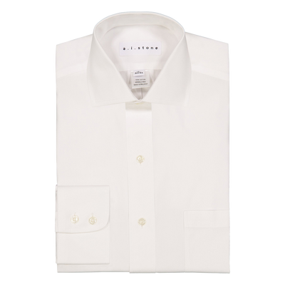 MENS CLASSIC PINPOINT CLASSIC FIT CUTAWAY COLLAR