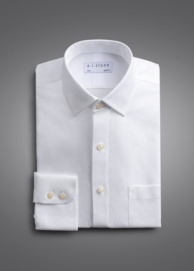 Mens Soft Twill Spread Collar Classic Fit With a Pocket