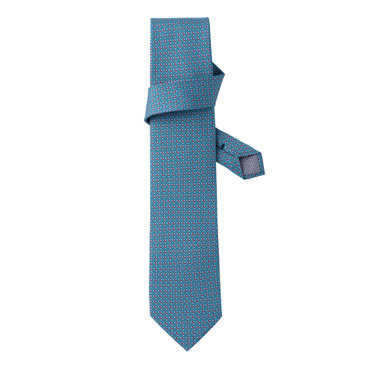 Men's LEo/LUX MSP-54 Printed Silk Tie