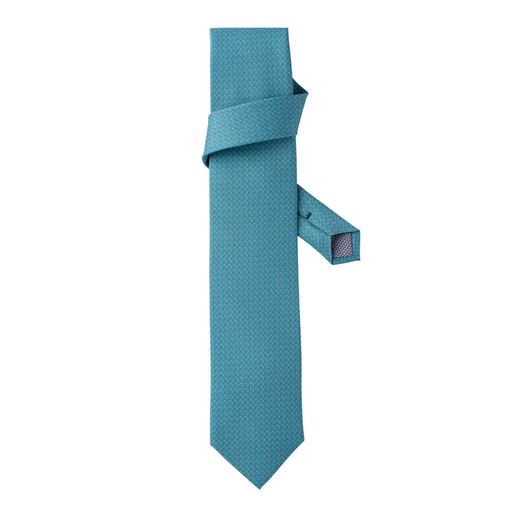 Men's LEo/LUX MSP-55 Printed Silk Tie