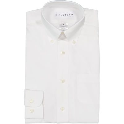 BOYS OXFORD WHITE SHIRT