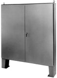 FMDD Series - 304 Stainless Steel Floor-Mounted Double Door Enclosures