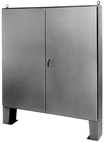 FMDD Series - 304 Stainless Steel Floor-Mounted Double Door Enclosures image