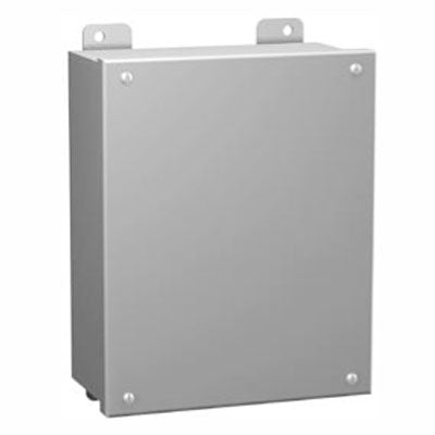 1414 SC Series - Painted Steel Enclosures with Lift-Off Screw Cover (no hinge) - Includes Inner Mounting Panel image