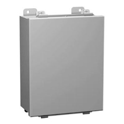 1414 Series - Painted Mild Steel Enclosures with Lift-Off Clamped Cover (no hinge) - Includes Inner Mounting Panel image