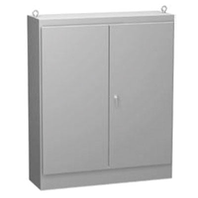 1418 FS Series - Painted Steel Free-Standing Double-Door Enclosures with 3-Point Latch image