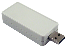Hammond ABS Plastic Miniature USB Enclosures 1551USB Series  For Use With USB A Type Connectors image