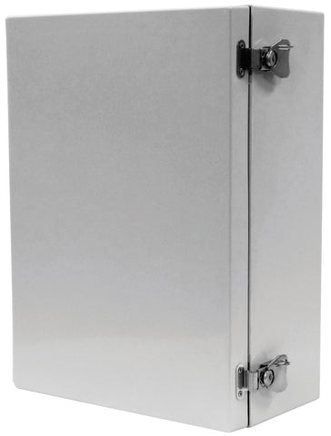 ARIA-HPLA Series - Fiberglass Enclosures with Hinged Cover and Padlockable Quarter-Turn Handle image