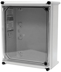 APO-DTH Series - Fiberglass Enclosures with Clear Screw Cover - Hinged with Quick Access Window and Non-Metallic Screws image