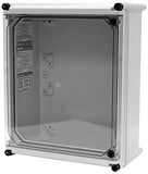 APO-DT Series - Fiberglass Enclosures with Clear Screw Cover - Includes Quick Access Window and Non-Metallic Screws