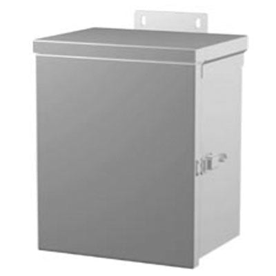 C3R Small Series - Painted Steel Enclosures with Hinged Screw Cover and Removable Knockouts image