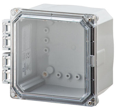 ELITE-HCF 6P Series - Polycarbonate Enclosures with Clear Cover Hinged Cover with Flanges image