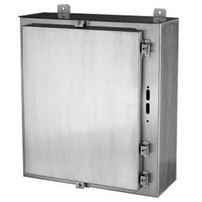 DN4X6 Series - 316L Stainless Steel Enclosures with Provision for a Flanged Disconnect (disconnect and handle NOT included) image