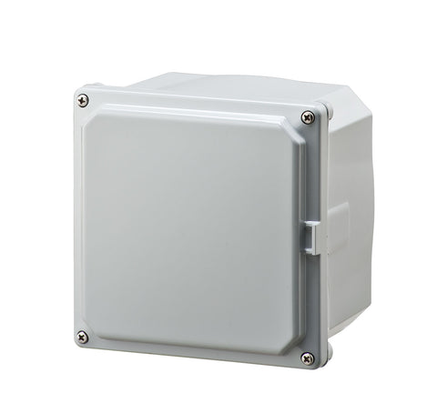 ELITE-S Series - Polycarbonate Enclosures with Opaque Screw Cover and Mounting Feet