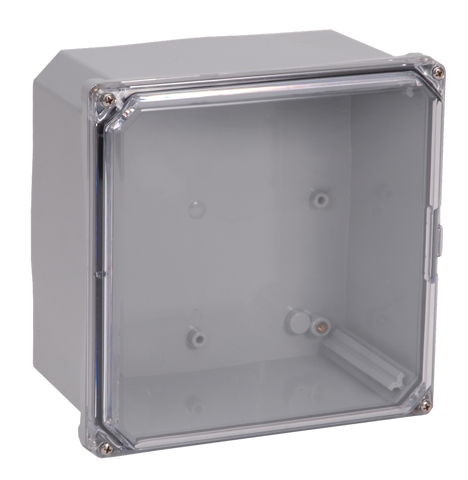ELITE-SCF Series - Polycarbonate Enclosures with Clear Screw Cover and Mounting Flange image