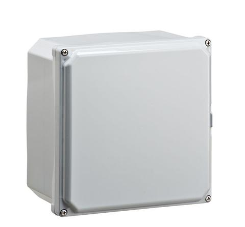 ELITE-SF Series - Polycarbonate Enclosures with Opaque Screw Cover and Mounting Flanges image