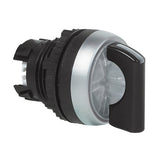 22mm Illuminated 3-Position Selector Switches - NEMA 4X, IP66, IP69K