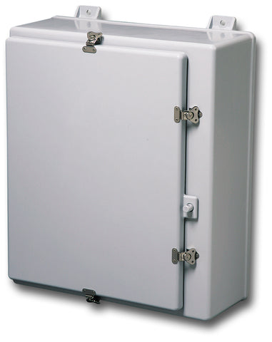 N4X-FG-LARGE Series - Fiberglass Enclosures with Twist Latch and Padlock Provision