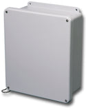 N4X-FG-SC Series - Fiberglass Enclosures with Lift-Off Screw Cover and Stainless Steel Cover Screws - Includes Cover Chain