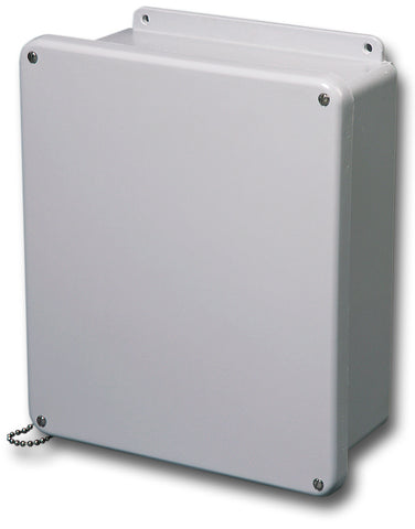 N4X-FG-SC Series - Fiberglass Enclosures with Lift-Off Screw Cover and Stainless Steel Cover Screws - Includes Cover Chain image