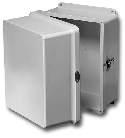 N4X-FG-XD Series - Fiberglass Enclosures with Extra Depth and Hinged Cover - Includes Twist Latch image