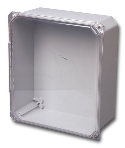 Premier Series - Clear Cover Hinged Screw Cover Fiberglass Enclosure image