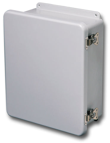 N4X-FG-CHTL Series - Fiberglass Enclosures with Hinged Cover and Twist Latch