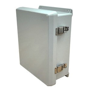 VJ-HWPL Series - Fiberglass Enclosures with Stainless Steel Continuous Hinge and Stainless Steel Padlockable Latches image