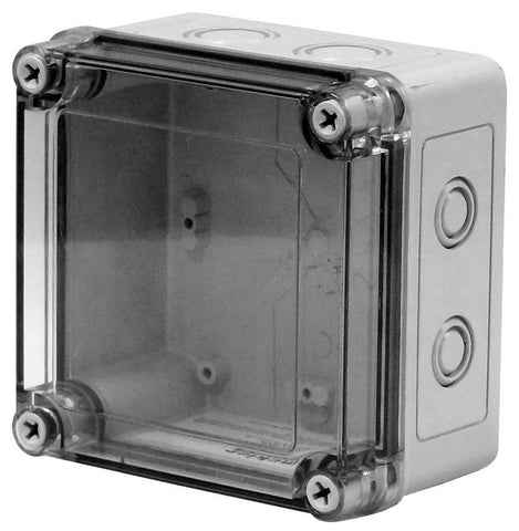 VMCTK Series - Polycarbonate Enclosures with Clear Screw Cover and Removable Knockouts image