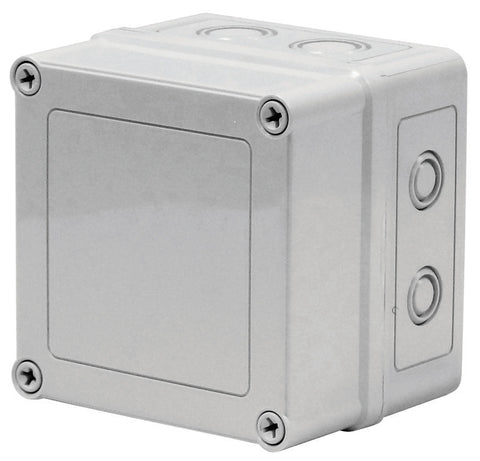 VMK Series - Polycarbonate Enclosures with Opaque Screw Cover and Removable Knockouts image