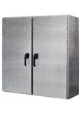 WMDD Series - 304 Stainless Steel Enclosure - Wall-Mounted with Double-Door