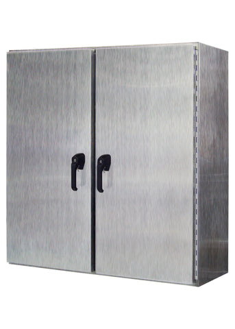 WMDD Series - 304 Stainless Steel Enclosure - Wall-Mounted with Double-Door image