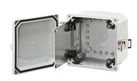 ELITE Series - Aluminum Swing-Panel Kit - Includes Panel and Hardware (Enclosure NOT Included) image