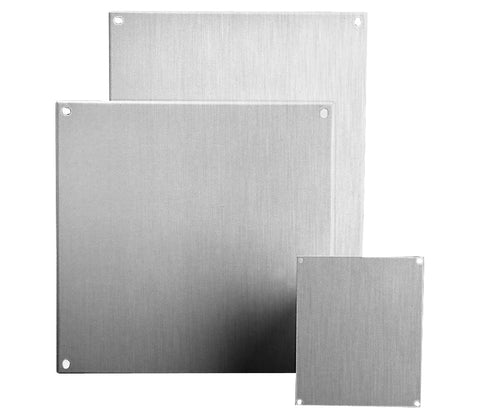 V Series Stainless Steel Mounting Panels - for Use With N4X and AVSS Series Enclosures-Painted Steel image